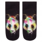 Preview: MOTIV SOCKEN PANDA BUNT SCHWARZ MULTICOLOR