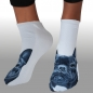 Mobile Preview: MOTIV SOCKEN MOPS WEISS