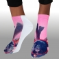 Preview: MOTIV SOCKEN PINK MOPS GEWEIH