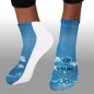 "Preview: MOTIV SOCKEN ANKER WELLEN WOLKEN MARITIM SPRUCH ""YOU ARE THE ANCHOR TO MY SOUL"""