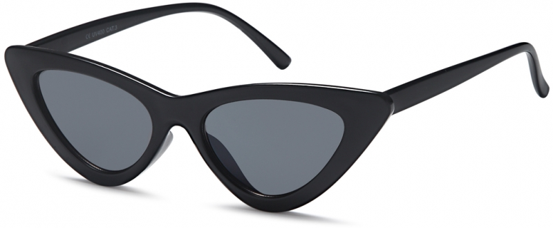 Cat Eye Brille Schwarz